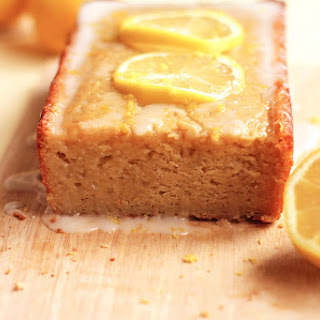 Healthy Lemon Loaf Cake.
