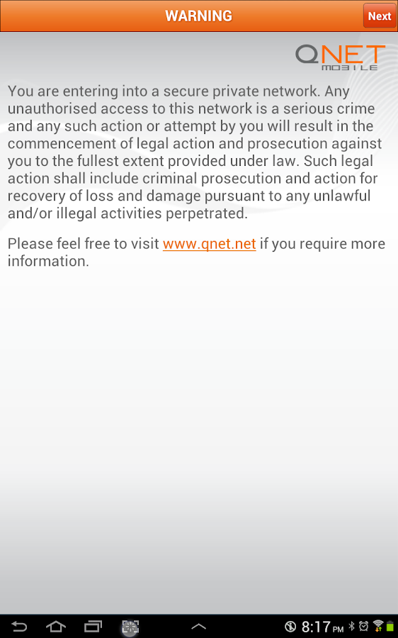 QNET Mobile - screenshot
