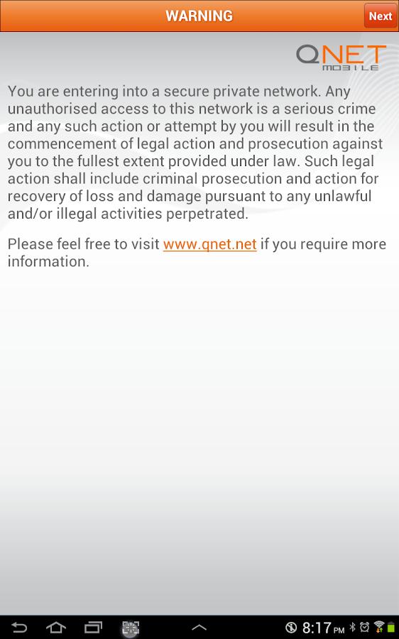 QNET Mobile- screenshot