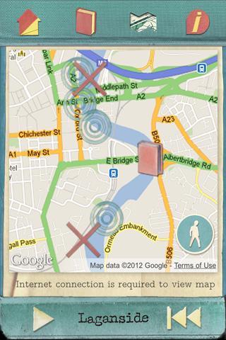 Laganside: Poetry in Belfast- screenshot
