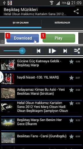 Beşiktaş Kara Kartal Müzikleri