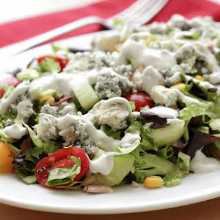 Bleu Cheese Salad Dressing.