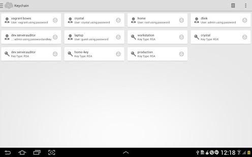 Serverauditor - ssh client - screenshot thumbnail