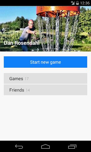 Discores - Disc Golf App