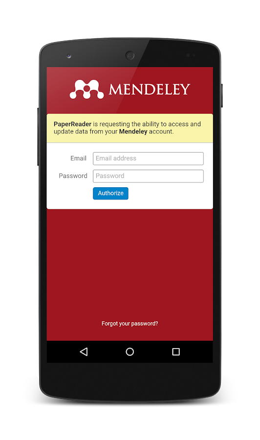 how to use mendeley app