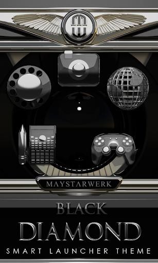 Smart Launcher theme Black Dia