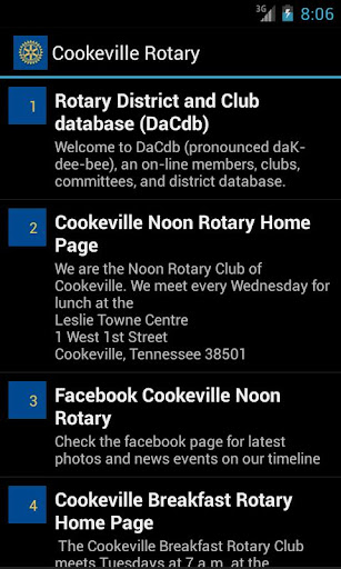 Cookeville Rotary
