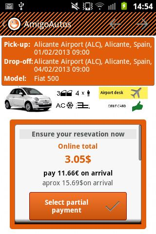 AmigoAutos Car Hire- screenshot