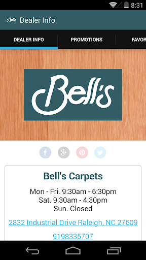 Bell's Carpets by MohawkDWS
