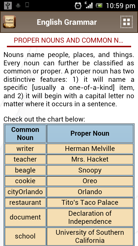 English Grammar Book Add Free- screenshot