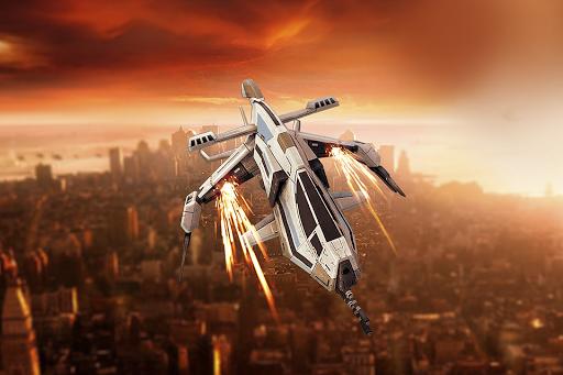 飛行機スカイレイダース - ゲーム飛行作戦機