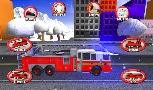 Fire Truck Race Rescue Kids