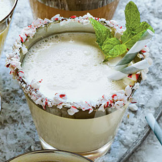 Mint-and-White-Chocolate Milk Punch.