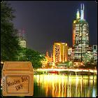 city night river lwp icon