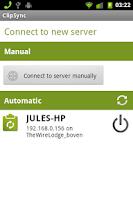 Screenshot of ClipSync