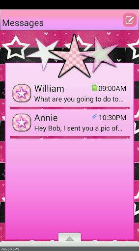 StarsNStrips2 GO SMS THEME