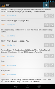 D Bitly - screenshot thumbnail