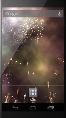 Fireworks Festival LWP - screenshot