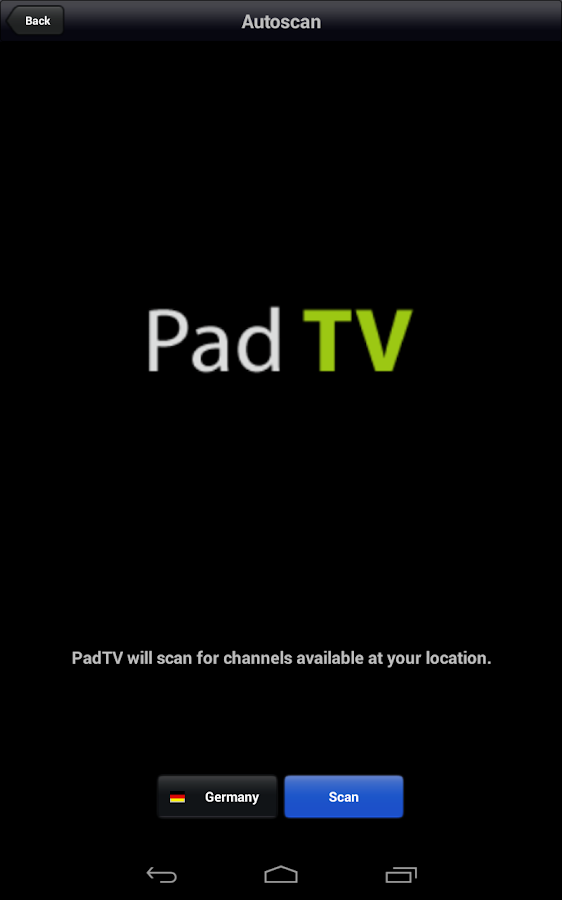 PadTV- screenshot