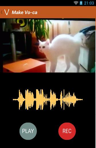 VOCAL dub voice over videos