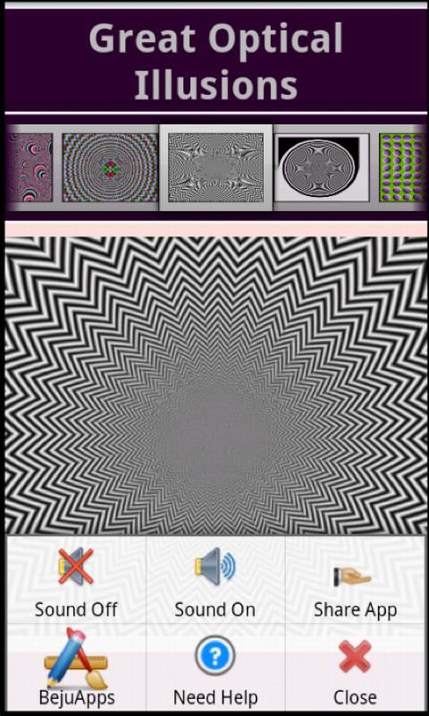 Great Optical Illusions Pro- screenshot