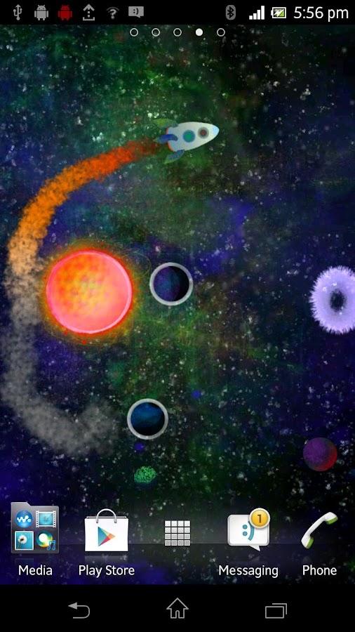 Kopernikus space rocket galaxy- screenshot