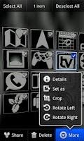 Screenshot of Blue Bionic for CM7