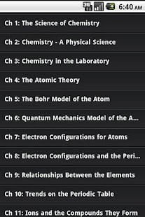 High School Chemistry Guide - screenshot thumbnail
