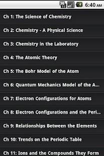High School Chemistry Guide - screenshot thumbnail