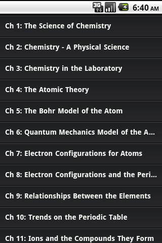 High School Chemistry Guide - screenshot