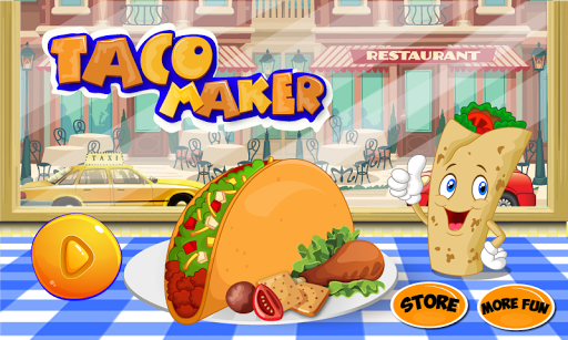 Taco Maker Cooking Game