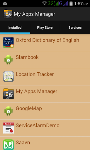 My Apps Manager