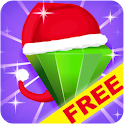 Jewels Space: Christmas Free logo