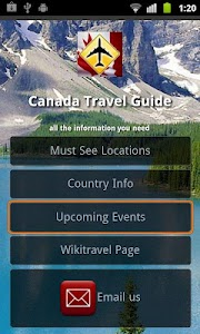 Canada Travel screenshot 1