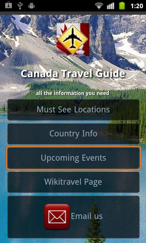 Canada Travel- screenshot
