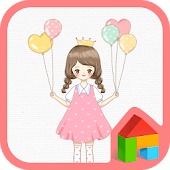 My name Amy pink dodol theme