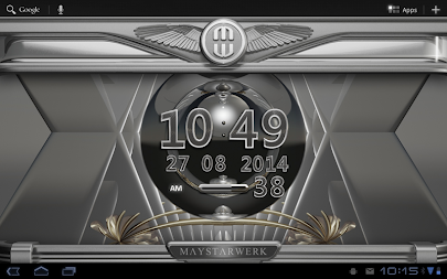 Digi Clock Widget Platinum APK screenshot thumbnail 8