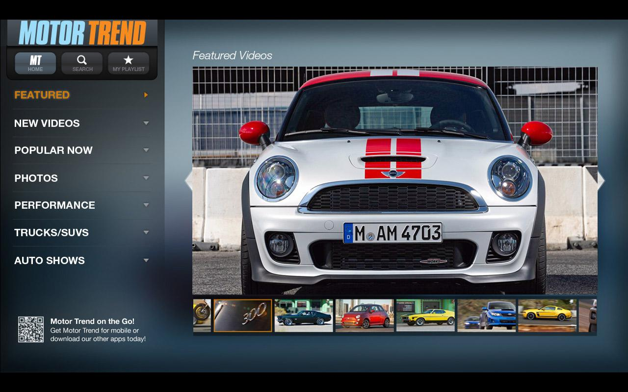 MotorTrend - screenshot