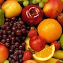 Attractive fruit wallpapers logo