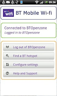 BT Mobile Wi-fi - screenshot thumbnail