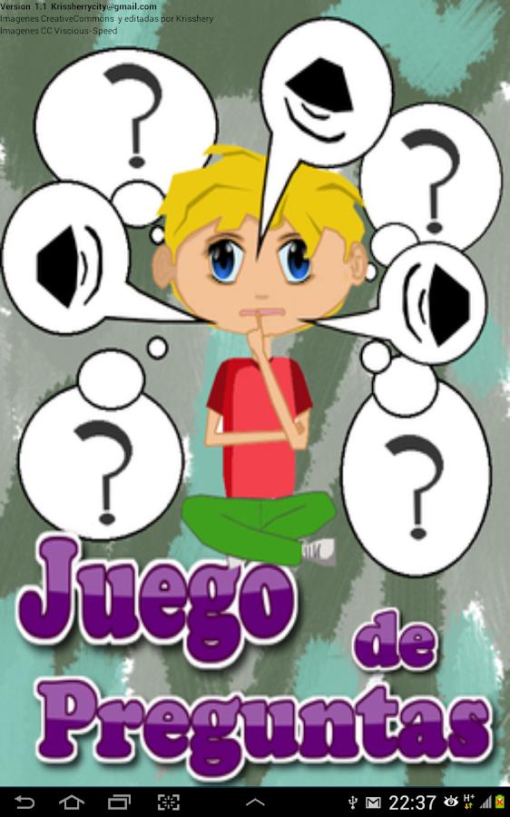 juegos de preguntas en espaol