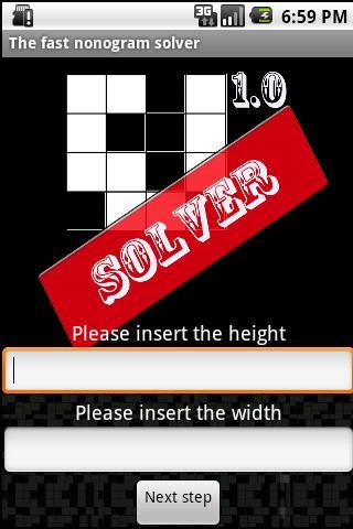 Nonogram Solver