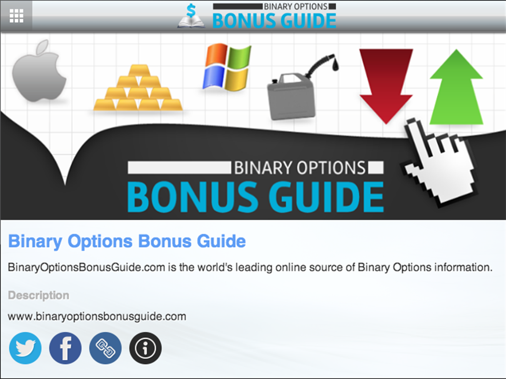 Binary options bonus terms