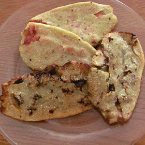 Tlacoyos (Stuffed Masa Cakes)