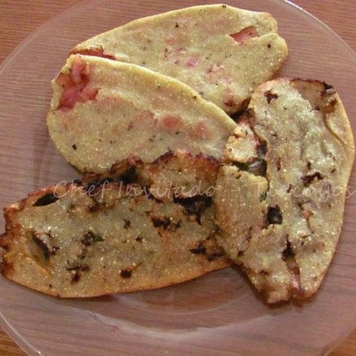 Tlacoyos (Stuffed Masa Cakes) Recipe