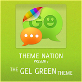 GOSMSTHEME Gel Green Theme