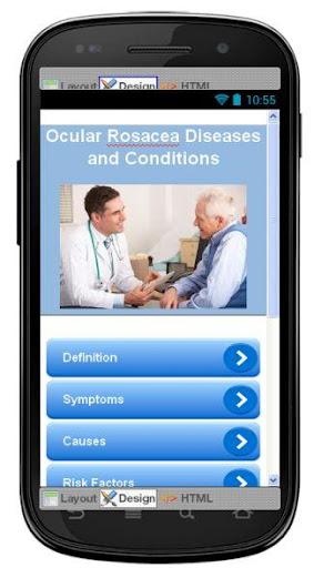 Ocular Rosacea Information