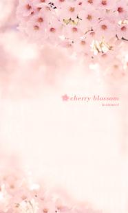 Cherry blossom go launcher