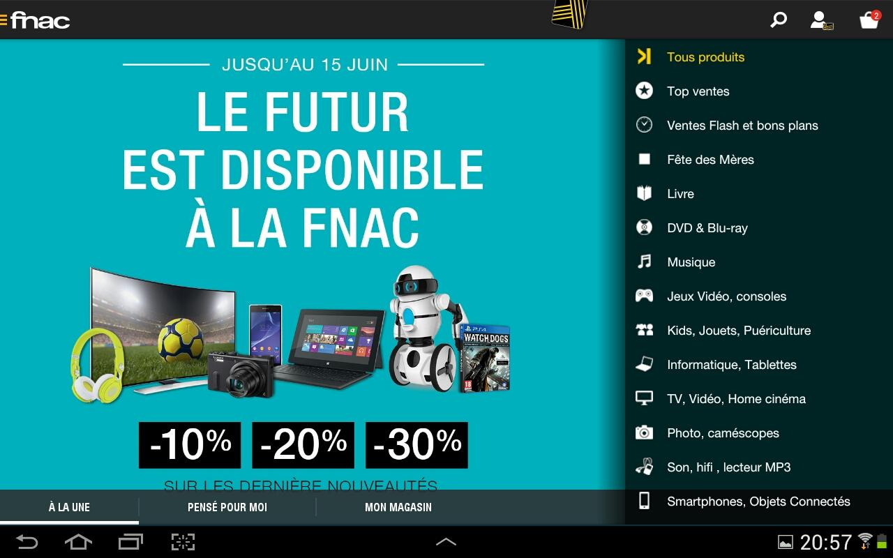 Fnac - screenshot