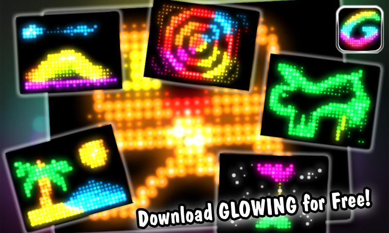 Glowing -create fun animations- screenshot